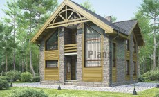 Проект кирпичного дома 71-76