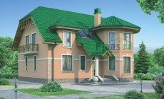 Проект кирпичного дома 71-86