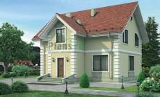 Проект кирпичного дома 71-93