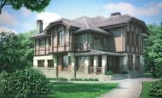 Проект кирпичного дома 71-97
