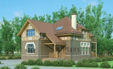 Проект кирпичного дома 71-98