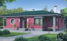 Проект кирпичного дома 72-05