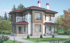 Проект кирпичного дома 72-09
