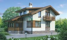 Проект кирпичного дома 72-19