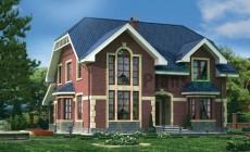 Проект кирпичного дома 72-20