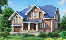Проект кирпичного дома 72-23