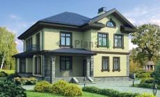 Проект кирпичного дома 72-24