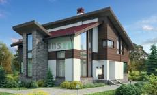 Проект кирпичного дома 72-25