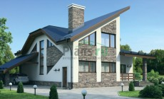Проект кирпичного дома 72-26