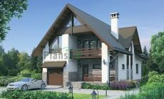 Проект кирпичного дома 72-34