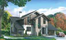 Проект кирпичного дома 72-36
