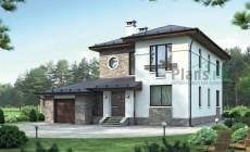 Проект кирпичного дома 72-52