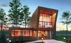 Проект кирпичного дома 72-55
