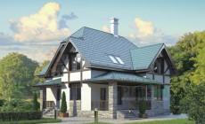 Проект кирпичного дома 72-63