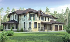 Проект кирпичного дома 72-73