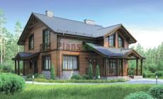 Проект кирпичного дома 72-77