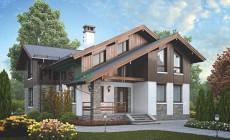 Проект кирпичного дома 73-01