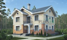 Проект кирпичного дома 73-07