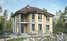 Проект кирпичного дома 73-15