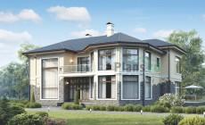 Проект кирпичного дома 73-22