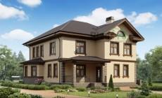 Проект кирпичного дома 73-25