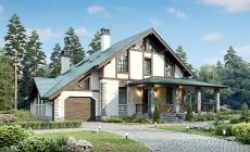 Проект кирпичного дома 73-36