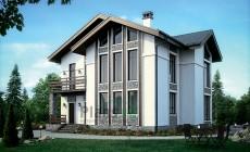 Проект кирпичного дома 73-40
