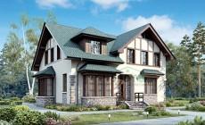 Проект кирпичного дома 73-47