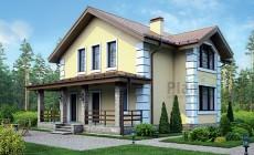 Проект кирпичного дома 73-49