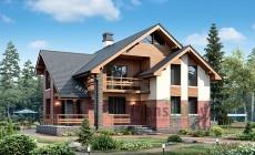 Проект кирпичного дома 73-55