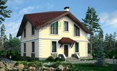 Проект кирпичного дома 73-63