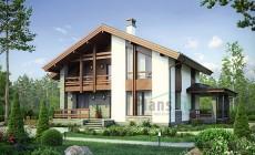 Проект кирпичного дома 73-64