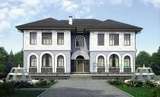 Проект кирпичного дома 73-68