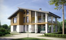 Проект кирпичного дома 73-73