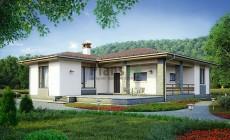 Проект кирпичного дома 73-77