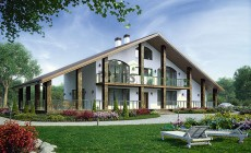 Проект кирпичного дома 73-78