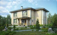 Проект кирпичного дома 73-84