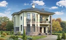Проект кирпичного дома 73-97