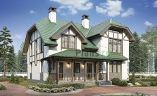 Проект кирпичного дома 74-06