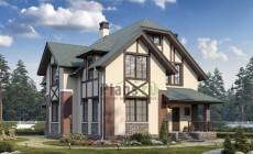 Проект кирпичного дома 74-18