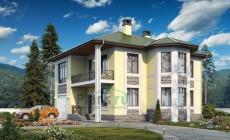 Проект кирпичного дома 74-37