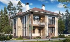Проект кирпичного дома 74-38