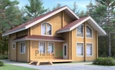 Проект деревянного дома 10-96
