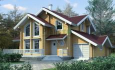Проект деревянного дома 11-07