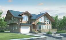 Проект деревянного дома 11-09