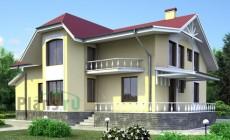 Проект деревянного дома 11-22