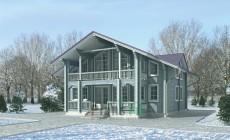 Проект деревянного дома 11-40