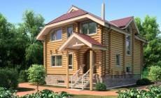 Проект деревянного дома 11-50
