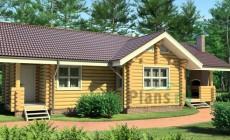 Проект деревянного дома 11-51