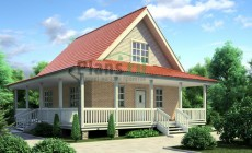 Проект деревянного дома 11-53